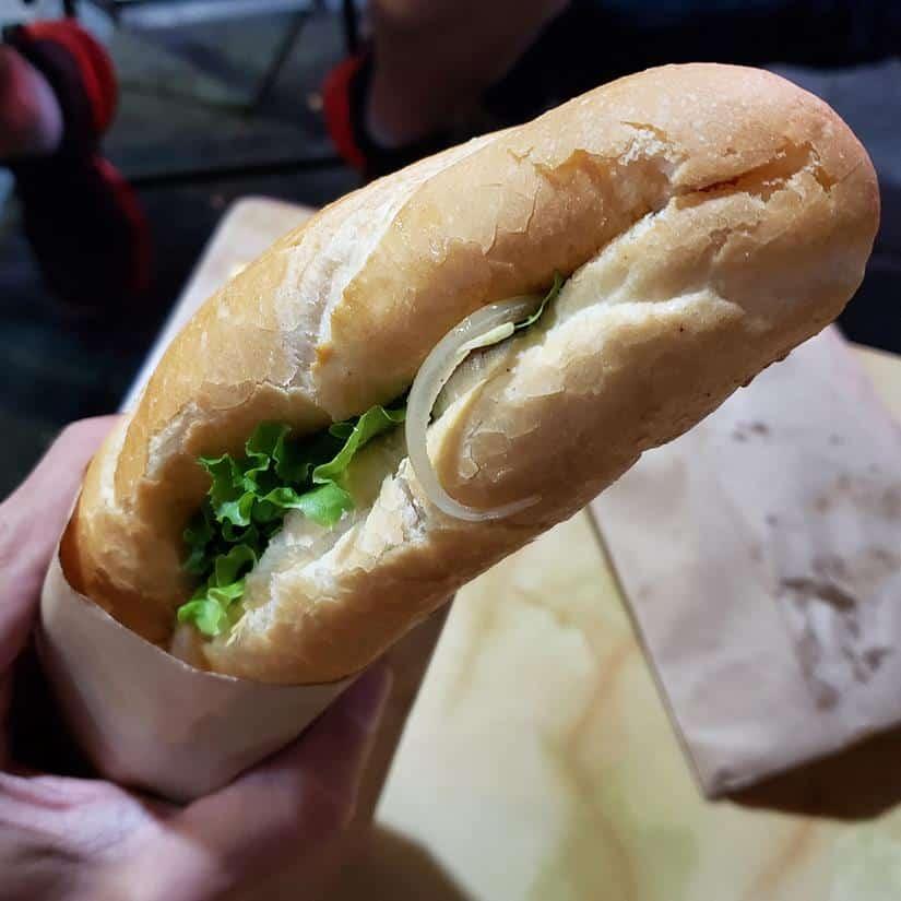 Lanche Vietnamita, o que comer em Hanoi