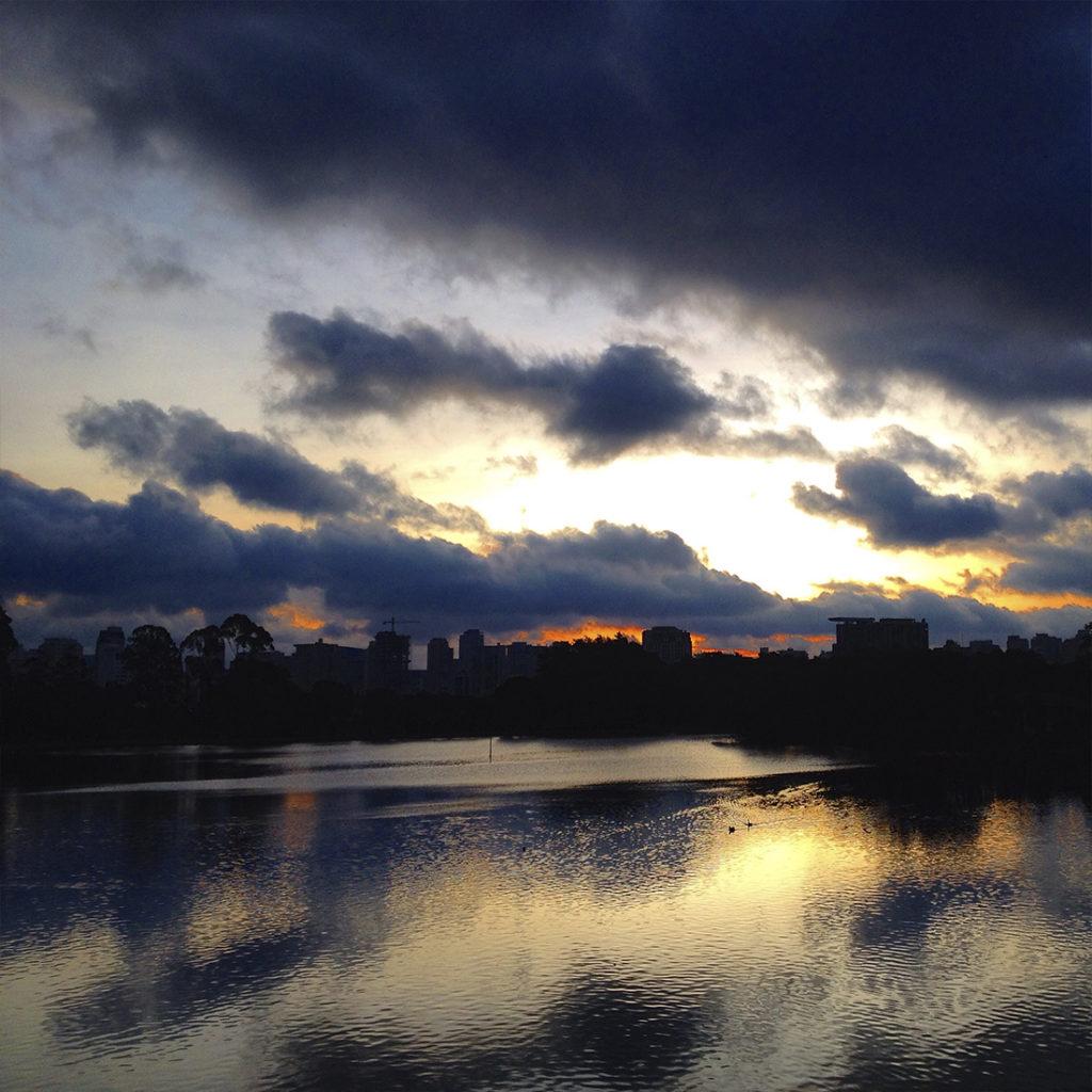 por do sol no parque do ibirapuera, parques em sao paulo