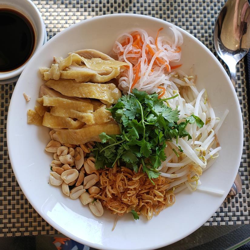o que comer no vietna, Phó gã trôn