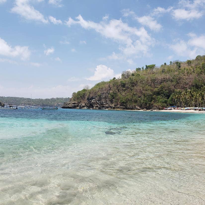 Crystal Bay Nusa Penida, praia na Indonésia
