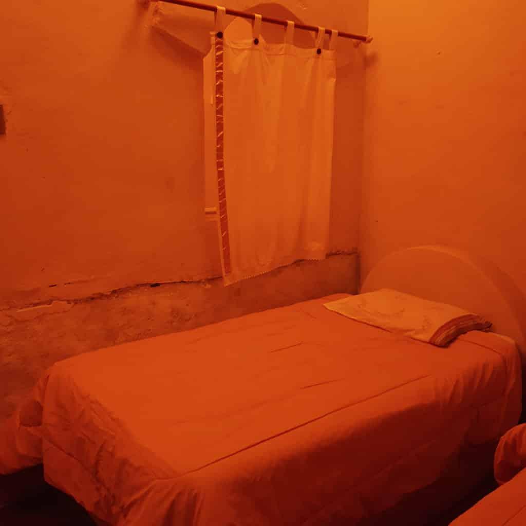 Dormindo em um hotel de sal na bolívia