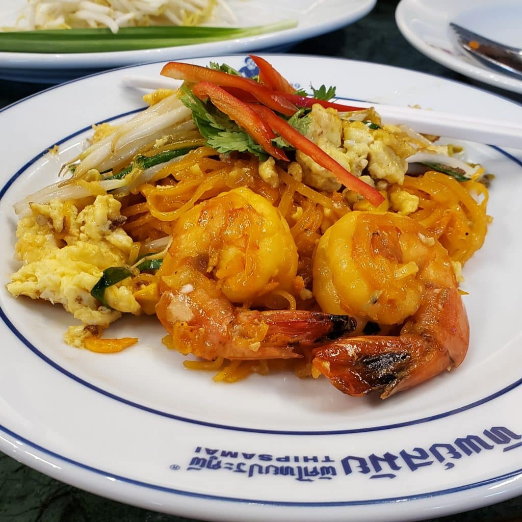 Roteiro de 17 dias pela Tailândia, o que comer na tailandia, pad thai