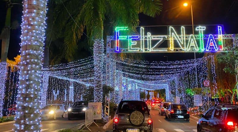 rua iluminada em santo andre natal 2020