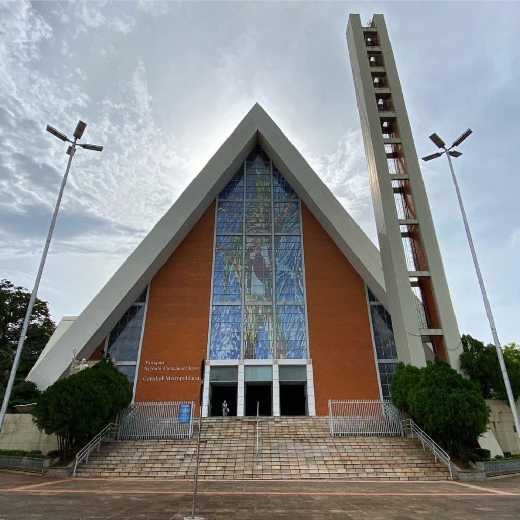 o que fazer em Londrina, catedral metropolitana de londrina