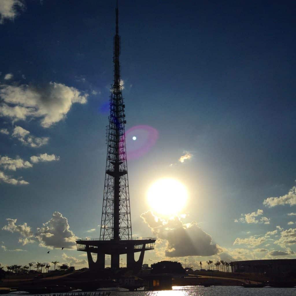 torre de tv de brasília
