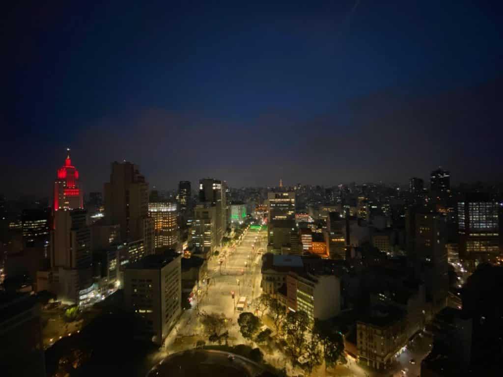 Sampa Sky à noite, como é a visita no sampa sky durante a noite