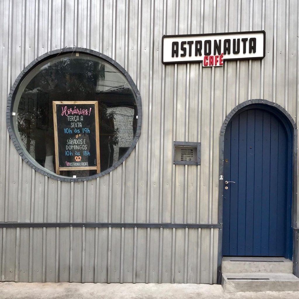 restaurante temático em São Paulo, astronauta café